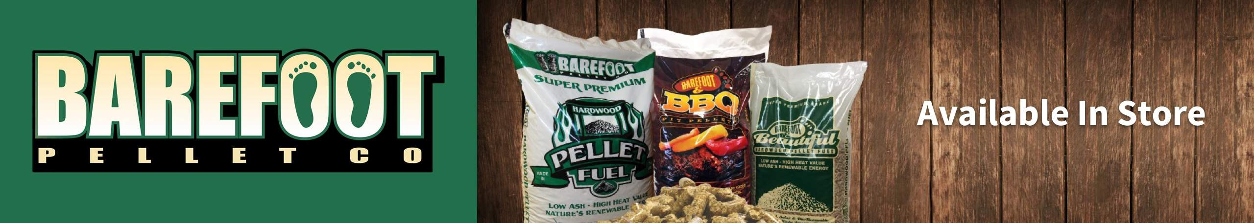 Shop Local with Barefoot Pellets at Arnot Building Supply - Locally-made pellets