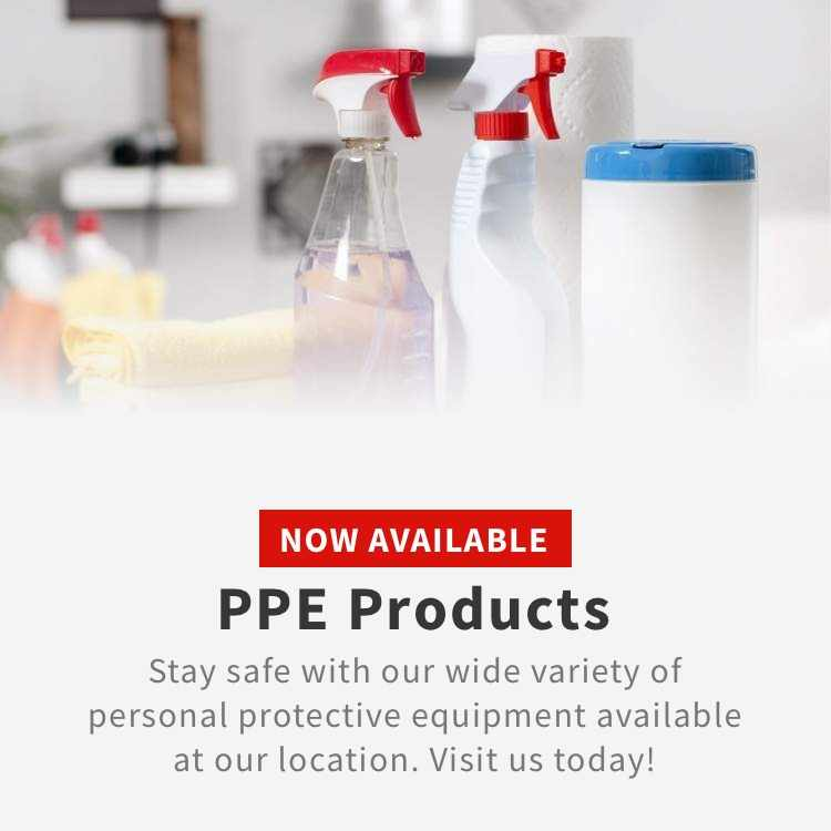 Shop PPE Products at Arnot Building Supplies Now Available