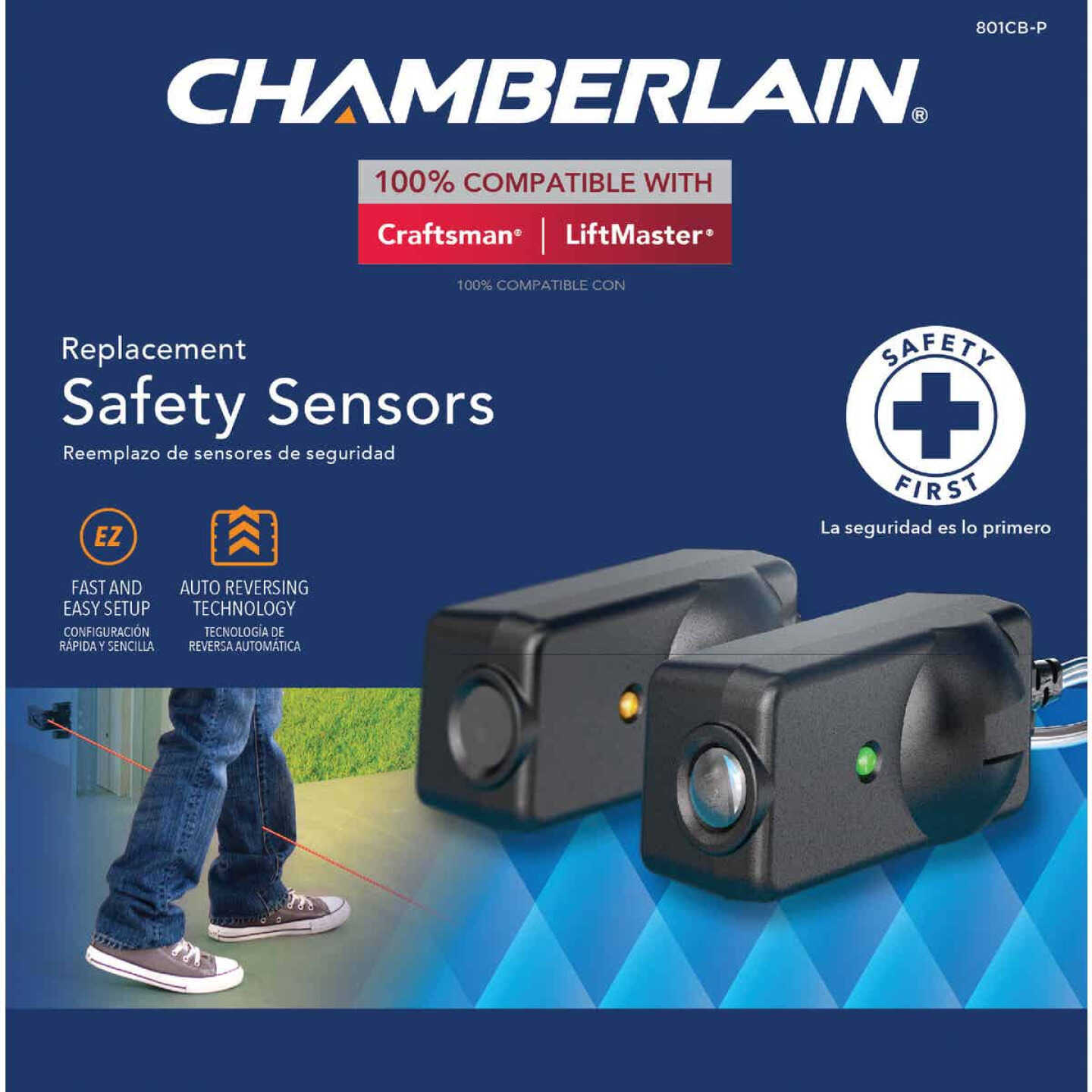Chamberlain Replacement Safety Sensor (2 Count) Image 1