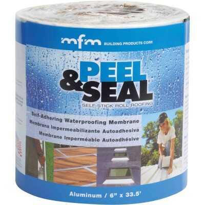MFM Peel & Seal 6 In. X 33.5 Ft. Aluminum Roofing Membrane