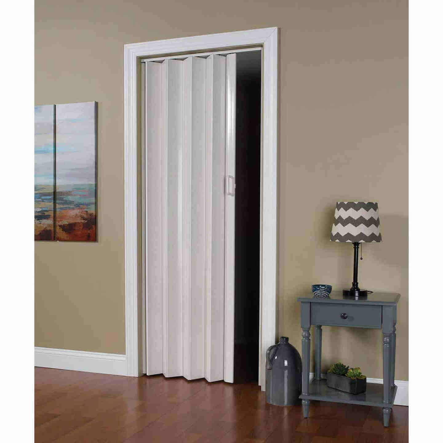 Spectrum Oakmont 36 In. W. x 80 In. H. White Accordion Folding Door Image 1