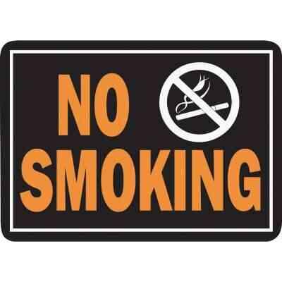 Hy-Ko Aluminum Sign, No Smoking