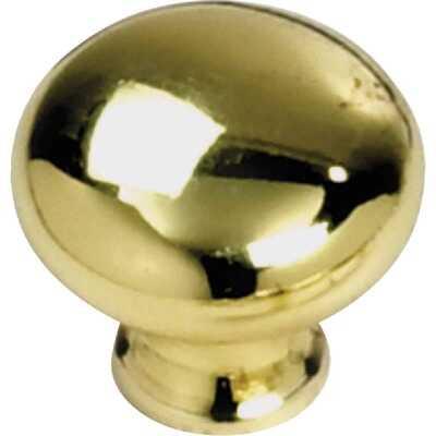 Laurey Polished Brass 1-1/4 In. Cabinet Knob