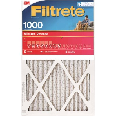 3M Filtrete 18 In. x 24 In. x 1 In. Allergen Defense 1000/1085 MPR Furnace Filter