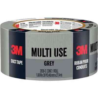 3M 1.88 In. x 30 Yd. Multi-Use Home & Shop Duct Tape, Gray