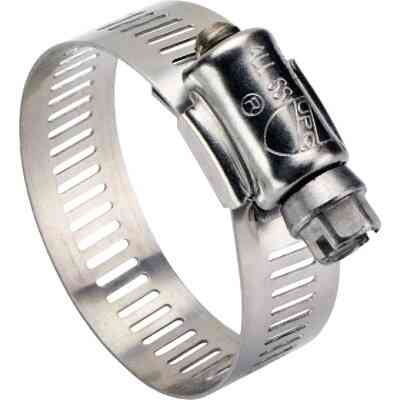 Ideal 1-1/2 In. - 2-1/2 In. All Stainless Steel Marine-Grade Hose Clamp
