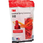 3M Medium Red 22 AWG to 8 AWG Wing Wire Connector (100-Pack) Image 1