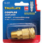 Tru-Flate Industrial/Milton Series Push-to-Connect 3/8 In. MNPT Coupler Image 1