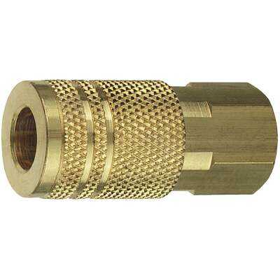 Tru-Flate Industrial/Milton Series Push-to-Connect 1/4 In. FNPT Coupler