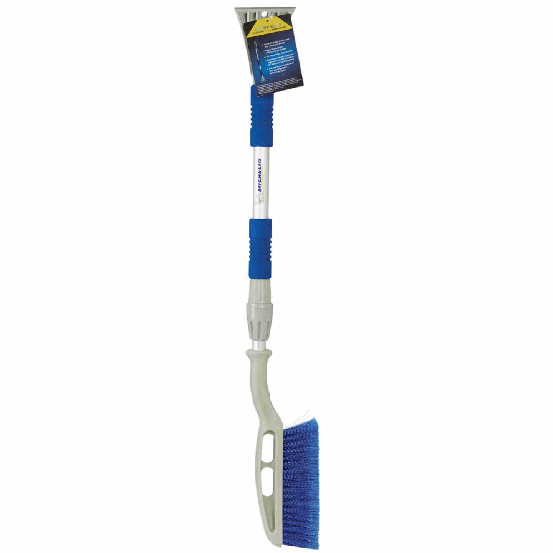Michelin 45 In. Steel Heavy-Duty Telescopic Snowbrush with Ice Scraper Image 2
