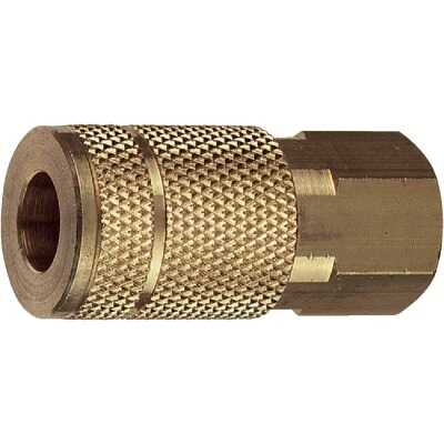 Tru-Flate Series Push-to-Connect 1/4 In. FNPT Coupler