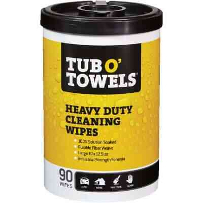 Tub O Towels Heavy Duty Cleaning Wipes ( 90 Ct.)