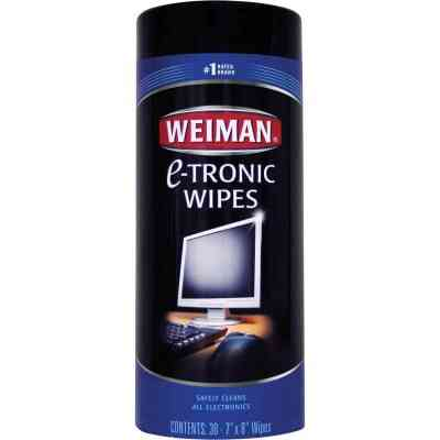 Weiman Electronic Media Wipes (30 Count)