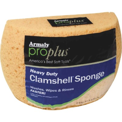 Armaly ProPlus 7.375 In. x 5 In. Yellow Heavy Duty Sponge