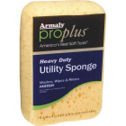 Armaly ProPlus 6.25 In. x 4.25 In. Yellow Heavy Duty Sponge Image 1