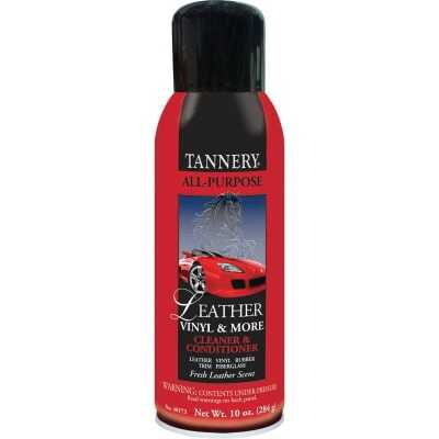 Tannery 10 Oz. Aerosol Spray All-Purpose Leather Care Cleaner & Conditioner