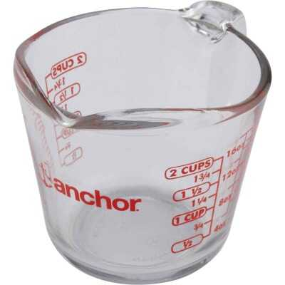 Anchor Hocking 2 Cup Clear Glass Measuring Cup