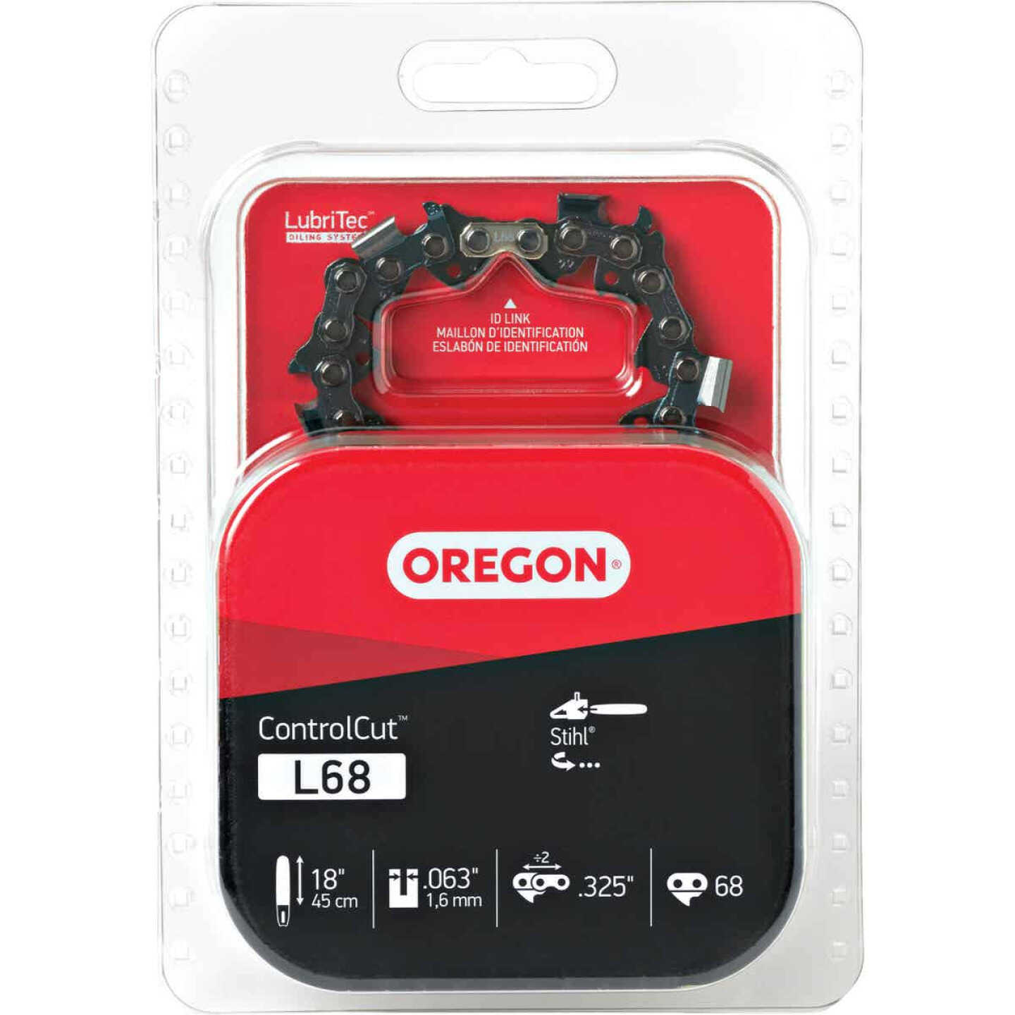 Oregon ControlCut L68 18 In. 0.325 In. 68 Link Saw Chain Image 1