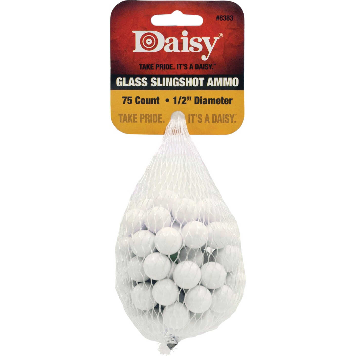 Daisy Glass 1/2 In. Slingshot Ammunition (75-Count) Image 1