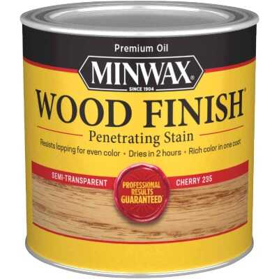 Minwax Wood Finish Penetrating Stain, Cherry, 1/2 Pt.