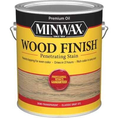 Minwax Wood Finish Penetrating Stain, Classic Gray, 1 Gal.