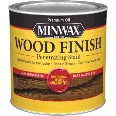 Minwax Wood Finish Penetrating Stain, Dark Walnut, 1/2 Pt.