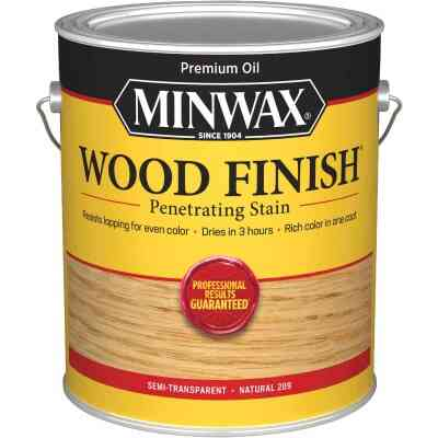 Minwax Wood Finish VOC Penetrating Stain, Natural, 1 Gal.