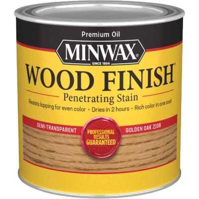 Minwax Wood Finish Penetrating Stain, Golden Oak, 1/2 Pt.