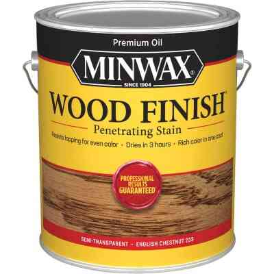 Minwax Wood Finish VOC Penetrating Stain, English Chestnut, 1 Gal.