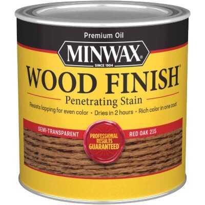 Minwax Wood Finish Penetrating Stain, Red Oak, 1/2 Pt.