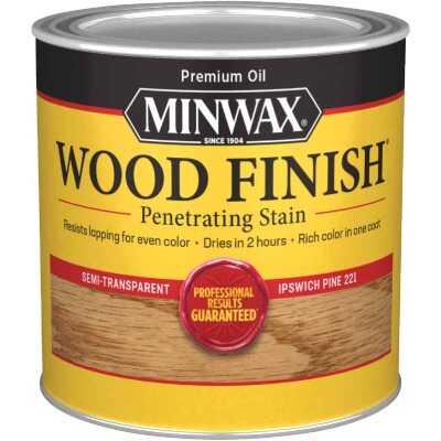 Minwax Wood Finish Penetrating Stain, Ipswich Pine, 1/2 Pt.