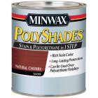 Minwax Polyshades 1/2 Pt. Gloss Stain & Finish Polyurethane In 1-Step, Natural Cherry Image 1