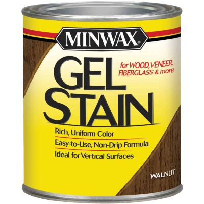 Minwax Gel Stain, Walnut, 1 Qt.