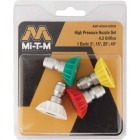 Mi-T-M 4.0mm Orifice Pressure Washer Spray Tip (4-Pack) Image 2