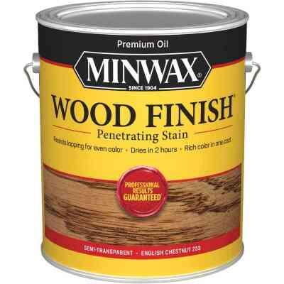 Minwax Wood Finish Penetrating Stain, English Chestnut, 1 Gal.