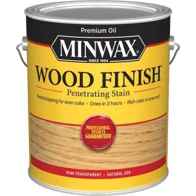Minwax Wood Finish Penetrating Stain, Natural, 1 Gal.
