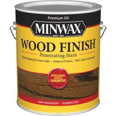 Minwax Wood Finish Penetrating Stain, Jacobean, 1 Gal.