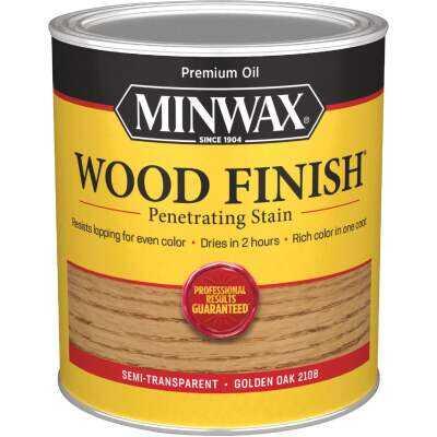 Minwax Wood Finish Penetrating Stain, Golden Oak, 1 Qt.