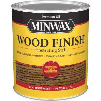 Minwax Wood Finish Penetrating Stain, Provincial, 1 Qt.
