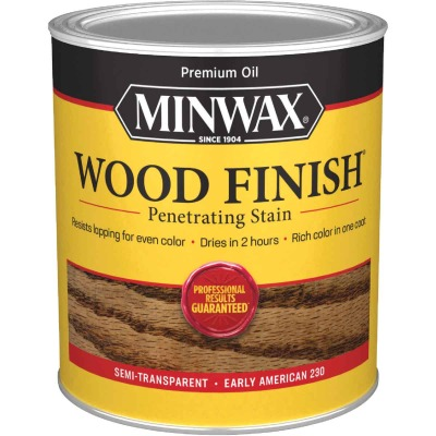 Minwax Wood Finish Penetrating Stain, Early American, 1 Qt.