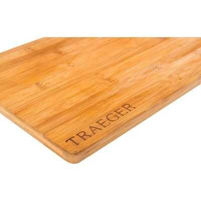Traeger 9.5 In. x 13.5 In. Magnetic Bamboo Cutting Board