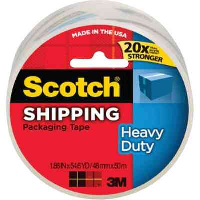 3M Scotch 1.88 In. X 54.6 Yd. High Performance Packaging Tape
