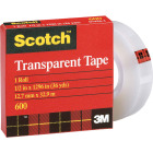 3M Scotch 1/2 In. x 36 Yd. Transparent Tape Refill Image 1